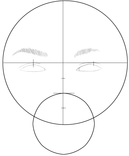 Step 4 : Drawing Carly Shay from Miranda Cosgrove with Easy Steps