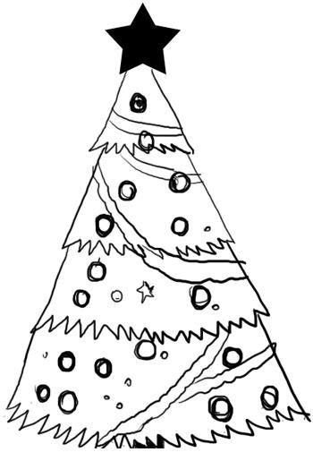 Step 4 : Drawing Christmas Trees