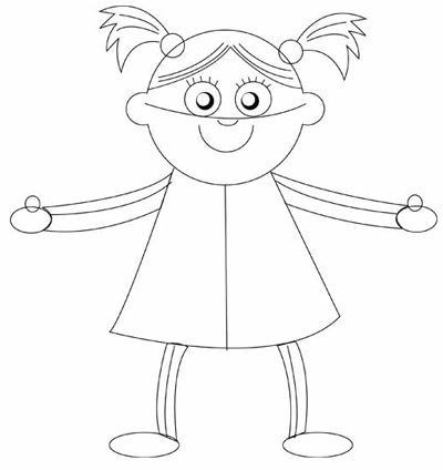 How To Draw Baby Dolls With Easy Step By Step Drawing Tutorial - How To Draw Step By Step ...