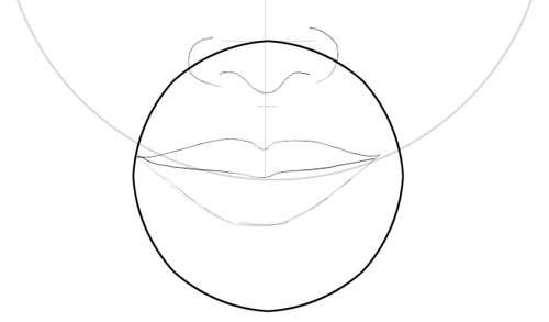 Step 9 : Drawing Carly Shay from Miranda Cosgrove with Easy Steps