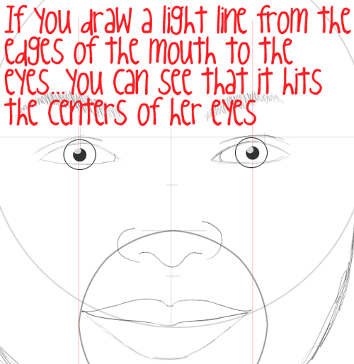 Step 11 : Drawing Carly Shay from Miranda Cosgrove with Easy Steps
