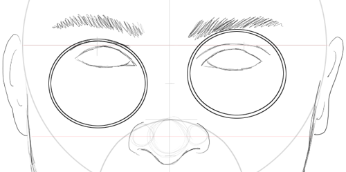 Step 12 : Drawing Harry Potter & Daniel Radcliffe with Easy Steps Tutorial