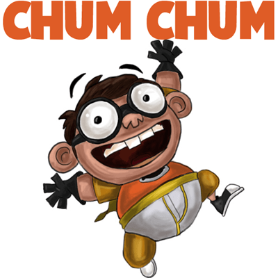 How to Draw Chum Chum from Fanboy and Chum Chum with Easy Steps Drawing Tutorial