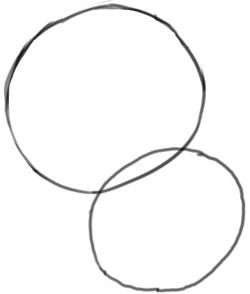 Step 1 : Drawing Chum Chum Step by Step Drawing Lesson