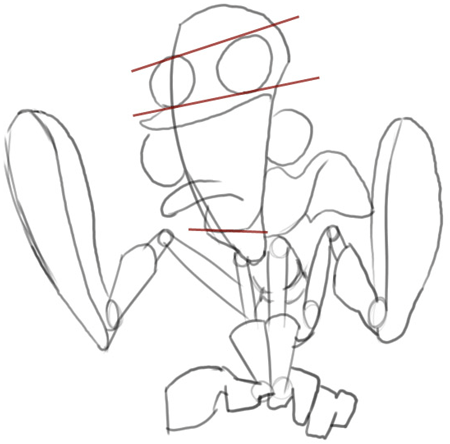 Step 4 : Drawing Fanboy and Chum Chum from Step by Step Drawing Tutorial