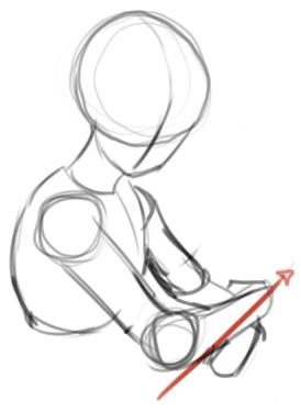 Step 2 How to Draw Kagome Higurashi from Inuyasha Anime Lesson