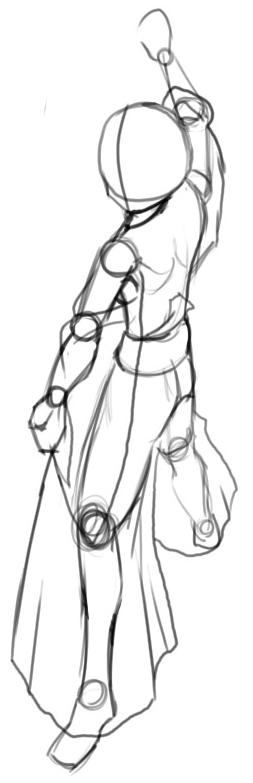 Step 4 How to Drawing Kikyo aka Kikyou from Inuyasha Drawing Lessons