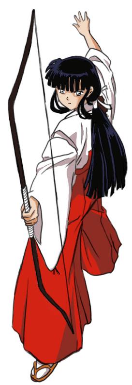 Step 9 How to Drawing Kikyo aka Kikyou from Inuyasha Drawing Lessons