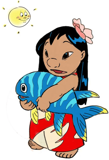 How to Draw Lilo from Lilo and Stitch with Easy Step by Step Drawing Lesson