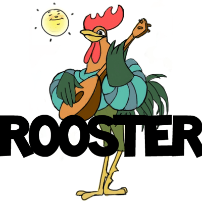 How to Draw Cartoon Roosters with Easy Step by Step Drawing Lesson