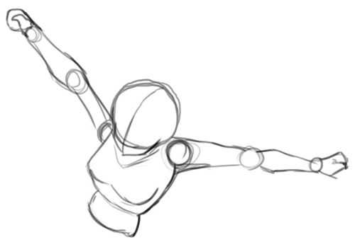 Step 2 : Drawing Sango from Inuyasha with Easy Step by Step Lesson