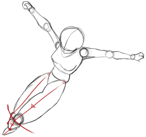 Step 3 : Drawing Sango from Inuyasha with Easy Step by Step Lesson