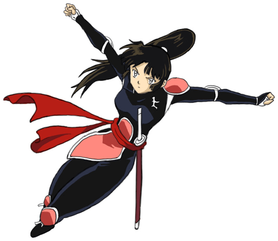 How To Draw Sango From Inuyasha With Easy Step By Step
