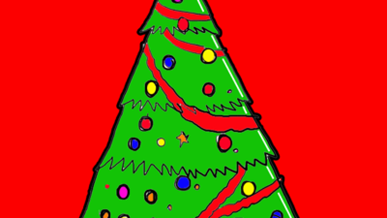 Steps To Drawing A Cartoon Christmas Tree Lesson For The Holidays How To Draw Step By Step Drawing Tutorials 540x333 cartoon christmas tree drawings. drawing a cartoon christmas tree lesson