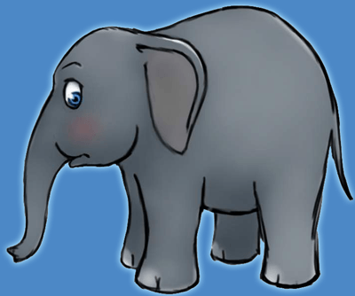 How to Draw Cartoon Elephants with Easy Step by Step Drawing TutorialHow to Draw Cartoon Elephants with Easy Step by Step Drawing Tutorial
