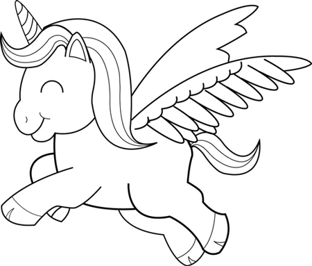 how to draw a unicorn trace and coppy