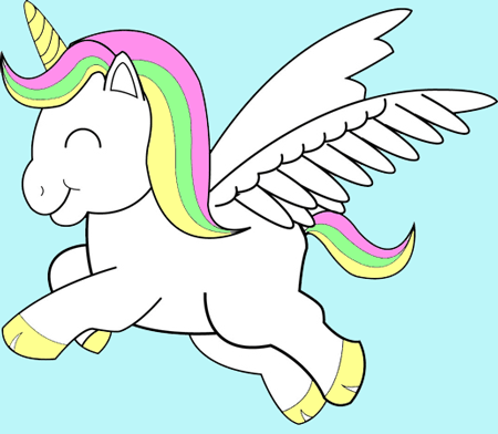 Learn How to Draw Colorful Unicorns