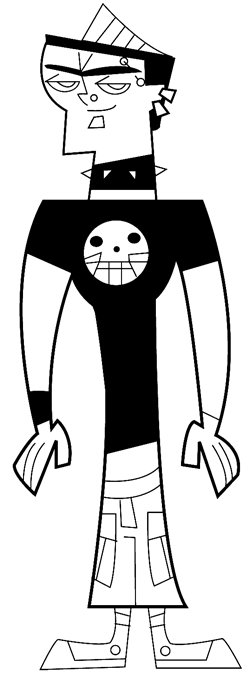 How To Draw Duncan From Total Drama Island Amp Action With
