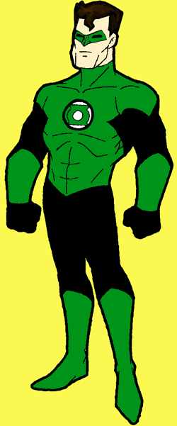 How to Draw Green Lantern from DC Comics with Step by Step Drawing Tutorial