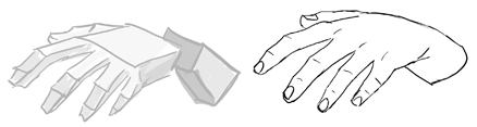 How to Draw Hands and Fingers Step by Step Lesson