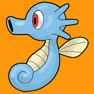 How to Draw Horsea from Pokemon with Simple Step by Step Drawing Lesson for Kids and Others
