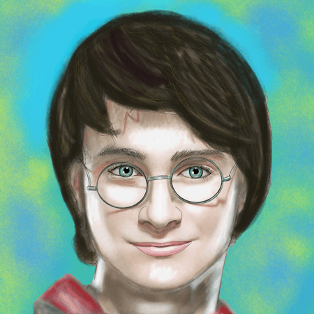 How to Draw Harry Potter Step by Step Drawing Lesson Daniel Radcliffe