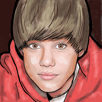 How to Draw Justin Bieber Step by Step with Drawing Tutorial