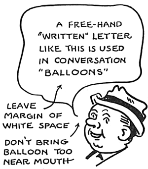 How to Make Perfect Comic Letters for Comic Strips