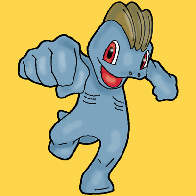 How to Draw Machop from Pokemon with Easy Step by Step Drawing Tutorial