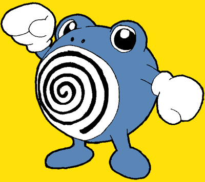 How to Draw Poliwhirl Pokemon Character with Easy Step by Step Drawing Lesson