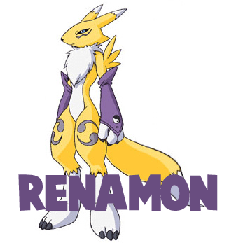 How to Draw Renamon from Digimon Step by Step Drawing Tutorial