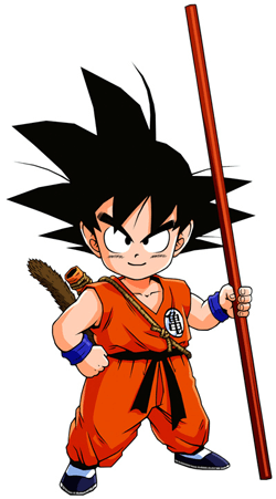 How to Draw Son Goku as a Child from Dragon Ball Z with Drawing Tutorial for Kids and Others