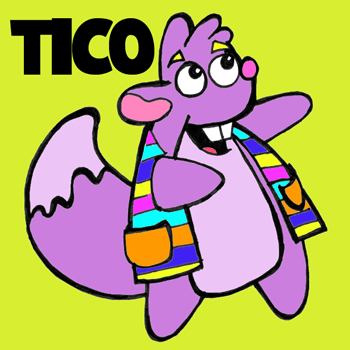 How to Draw Tico from Dora the Explorer with Step by Step Drawing Lesson