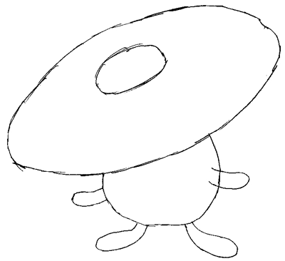 Step 3 : Drawing VilePlume Step by Step Pokemon Lesson for Kids