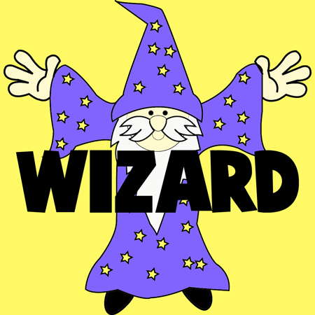 How to Draw Cartoon Wizards with Easy Step by Step Drawing Lesson for Kids