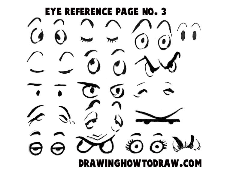 Closed Eye Drawing Cartoon La Boucle
