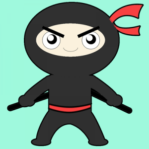 How to Draw Cartoon Ninja Boy East Step by Step Drawing Tutorial