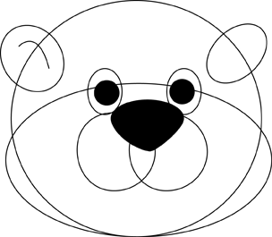 Step 1 : Drawing Cartoon Groundhogs step by step drawing lessons