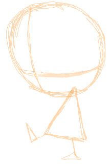 Step 1 : Drawing Gaz with Easy Steps Drawing Lesson