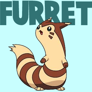 how to draw furret from pokemon with easy steps drawing lesson how