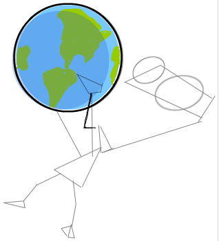 Step 4 : Drawing Invader Zim Conquering the World Tutorial