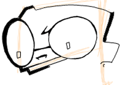 Step 4 : Drawing Dib from Invader Zim Easy Steps Lesson