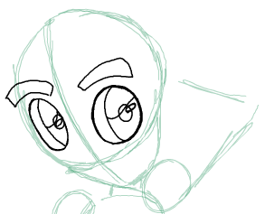 Step 4 : Drawing Beast Boy from Teen Titans Step by Step Tutorial