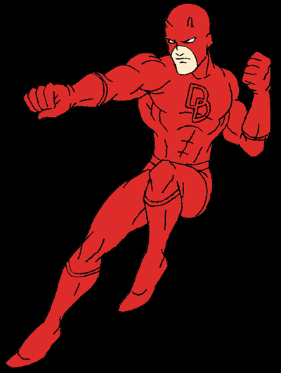 How to Draw Daredevil from DC Comics in Easy Steps Drawing Tutorial