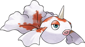 How to Draw Goldeen from Pokemon in Easy Steps Drawing Tutorial