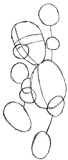Step 4 : Drawing Luigi from Super Mario Bros in Steps Lesson