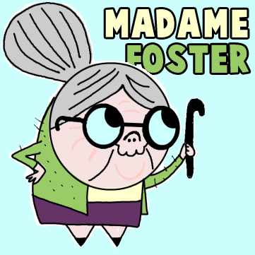 How to Draw Madame Foster from Fosters Home for Imaginary Friends Drawing Lesson
