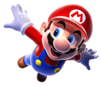 How to Draw Mario Flying from Super Mario Galaxy Step by Step Drawing Tutorial