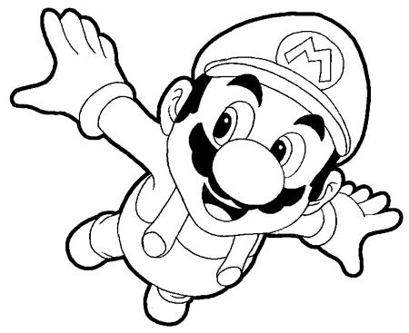 Step 9 : Drawing Mario Step by Step Tutorial