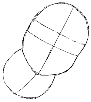 Step 2 : Drawing Mario Step by Step Tutorial